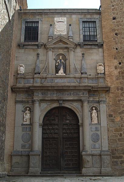 Portada de la Iglesia de San Pedro Mártir - Fotografía de Miguel Hermoso Cuesta