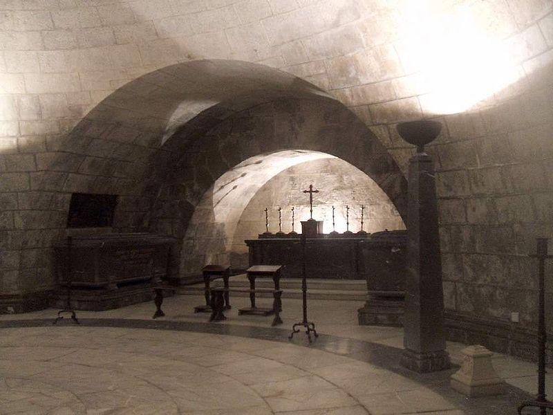 Cripta del Hospital de Tavera. Fotografía de Zarateman