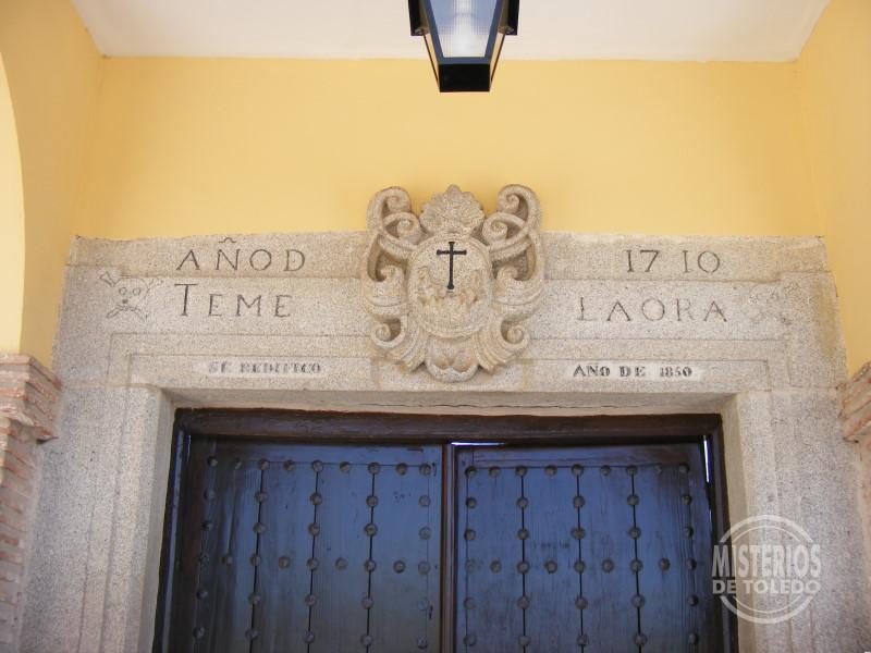 """Centro Cultural """"San Ildefonso"""". Detalle inscripción"""